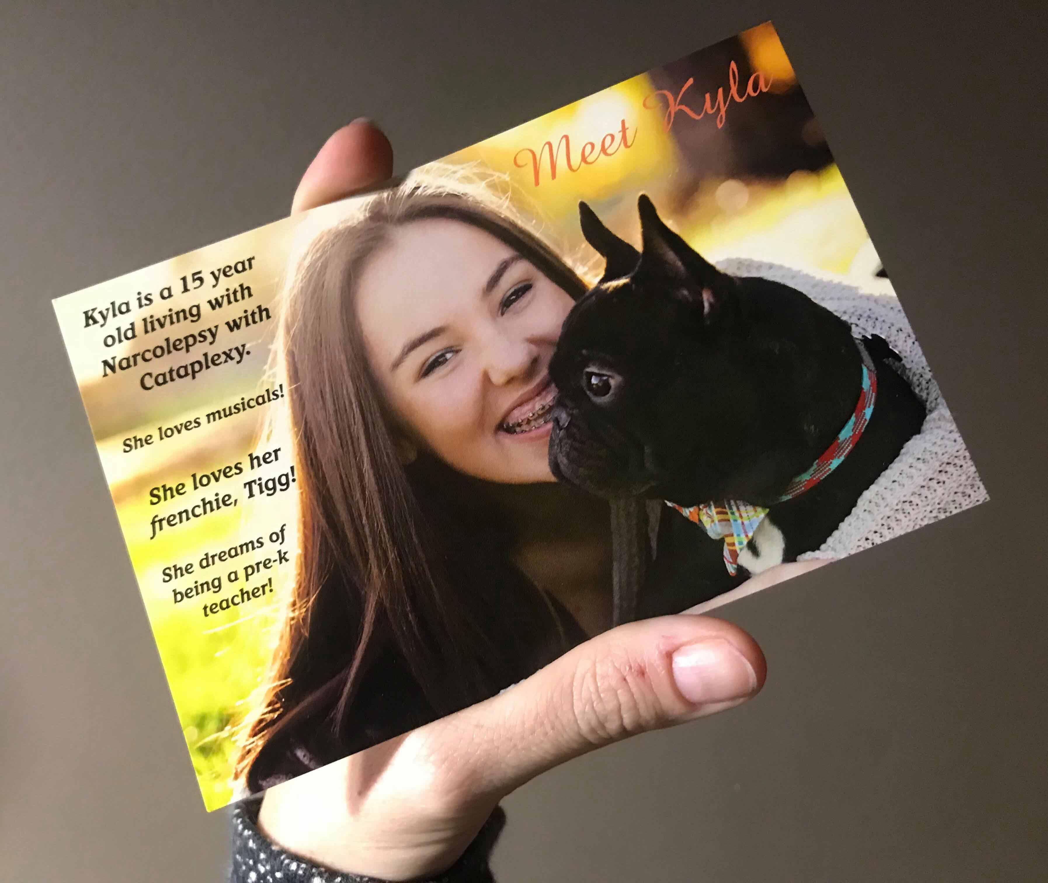 Kyla Postcard